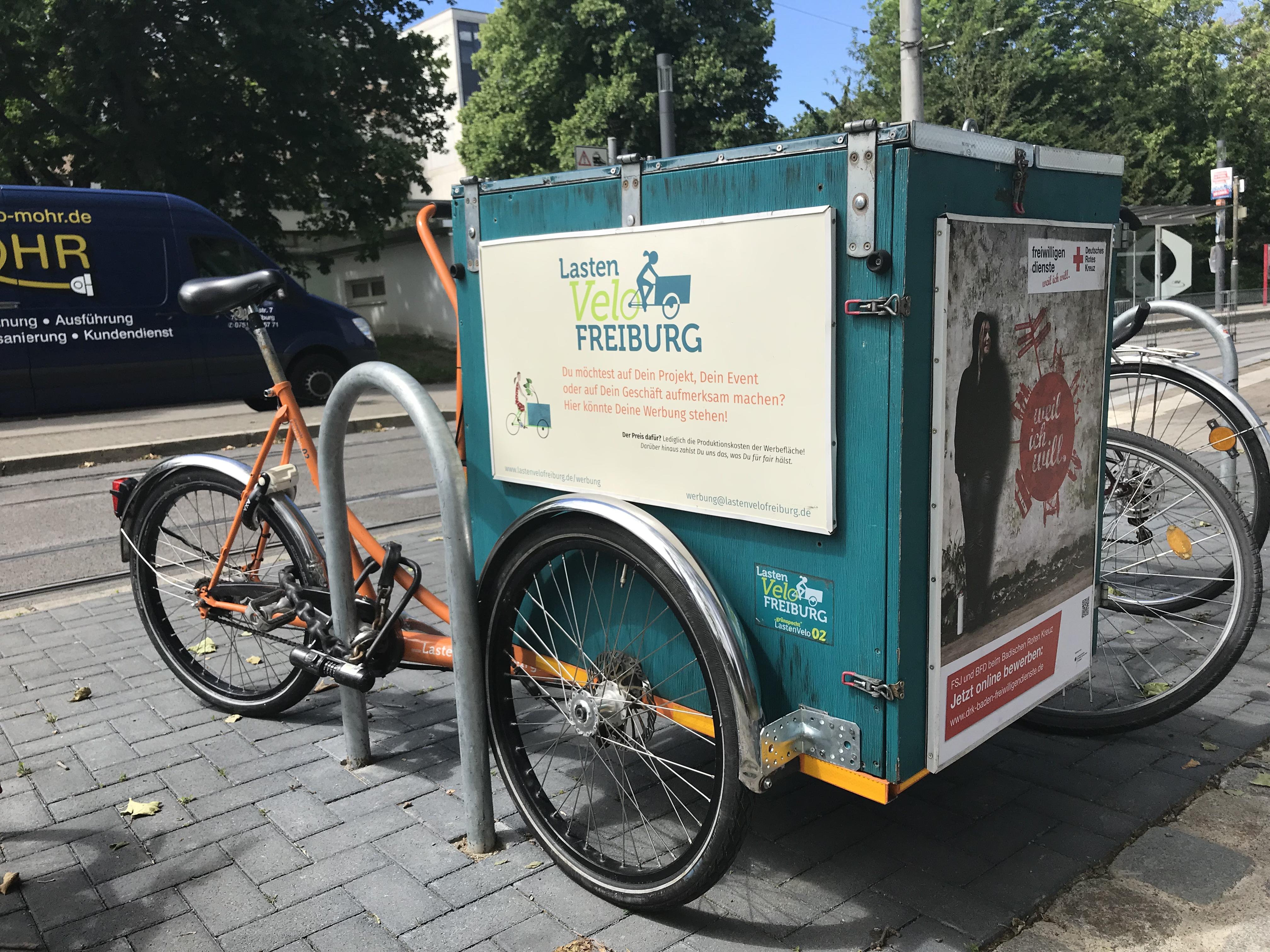 LastenVelo Freiburg – Der kostenlose Lastenradverleih in
